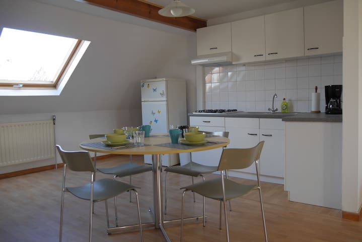 Nice cosy duplex with much light - Ixelles - Daire