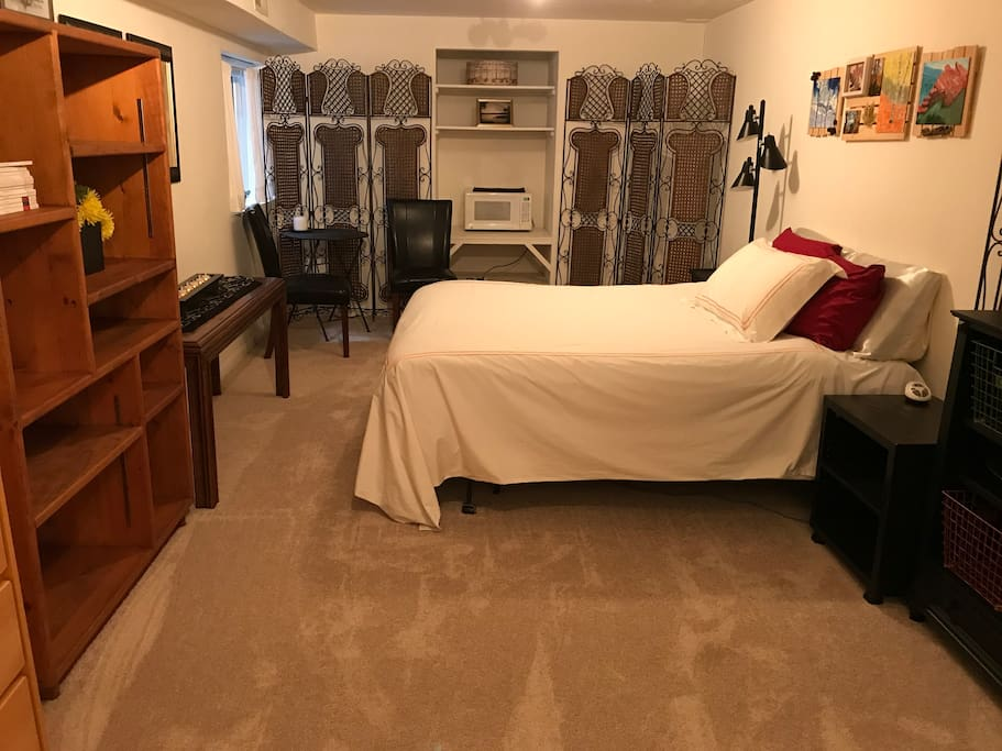 Your lower level bedroom