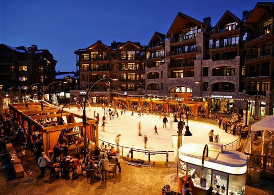 Northstar Village ice rink