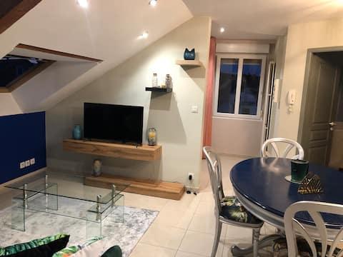 Charmant appartement entièrement équipé et rénové