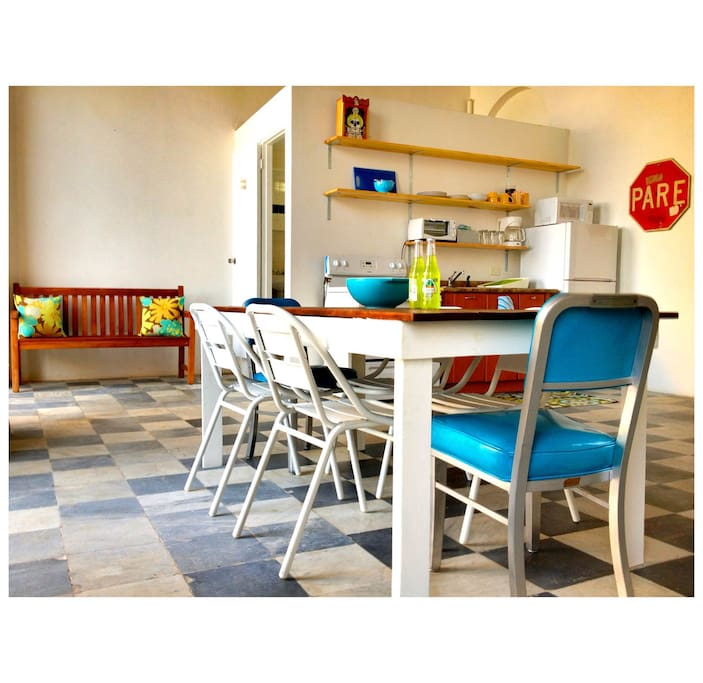 furniture is handmade or upcycled