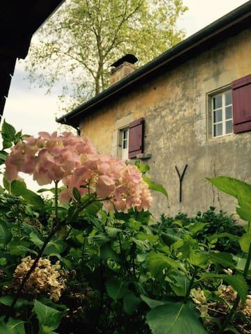 Charming Room in Old Farm House - Saint-Laurent-de-Gosse - ที่พักพร้อมอาหารเช้า