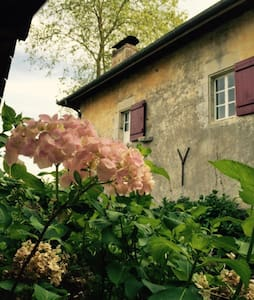 Charming Room in Old Farm House - Saint-Laurent-de-Gosse - Bed & Breakfast