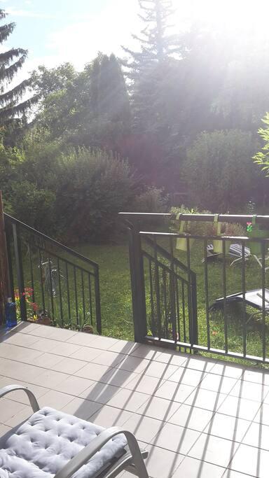 Gartenwohnung für Naturliebhaber