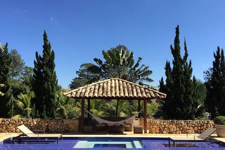 Mansão Paradisíaca a 1h de SP - Boituva
