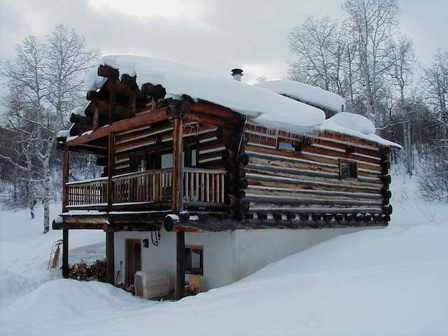 ROMANTIC LOG CHALET - Steamboat Springs - Skáli