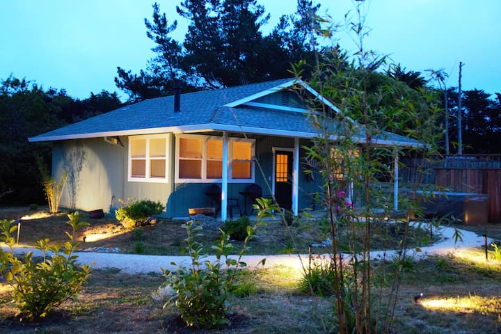 Sparkling New Garden Spa House - Point Reyes Station - Rumah