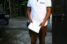 Our friendly manager Gede