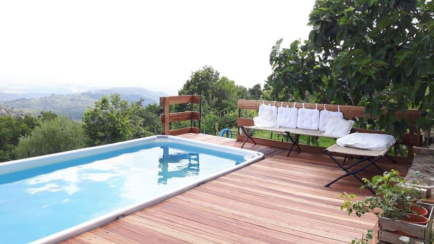 Le Piane casa Toscana con piscina - Montecatini Val di Cecina - Appartement