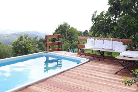 Le Piane casa Toscana con piscina  - Montecatini Val di Cecina - Apartment