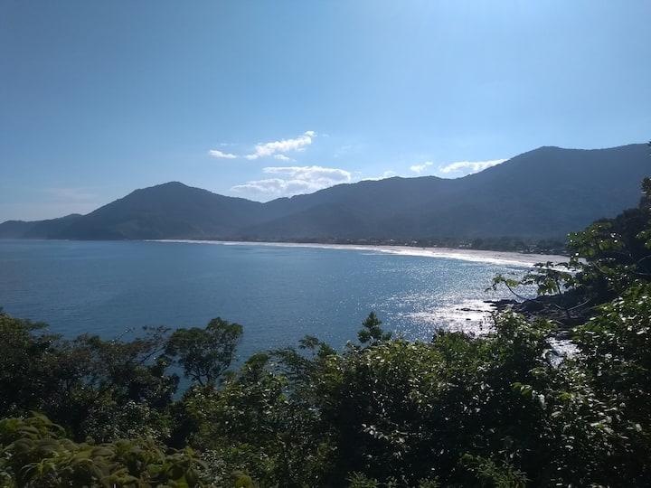 Suíte privativa Praia e Campo Boiçucanga/Maresias