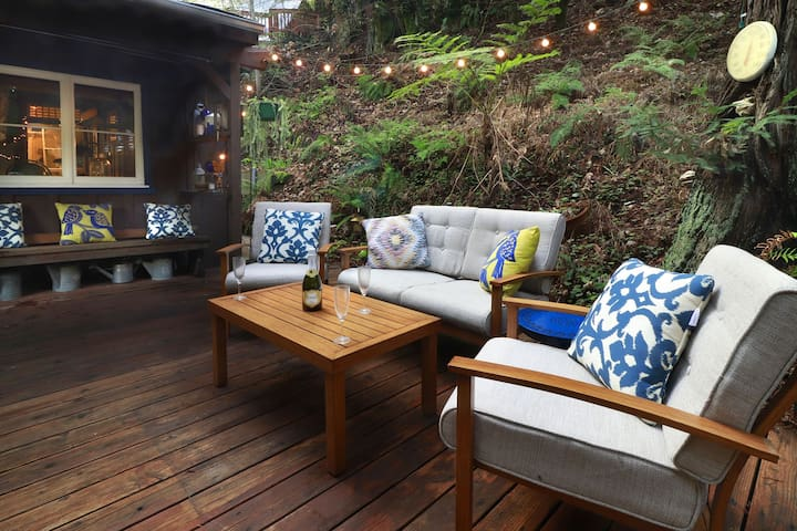 SPRINGHILL: Wine Tasting | Redwoods | Hot Tub