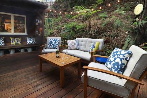 SPRINGHILL: Yowza! Wine Tasting + Hot Tub@Redwoods