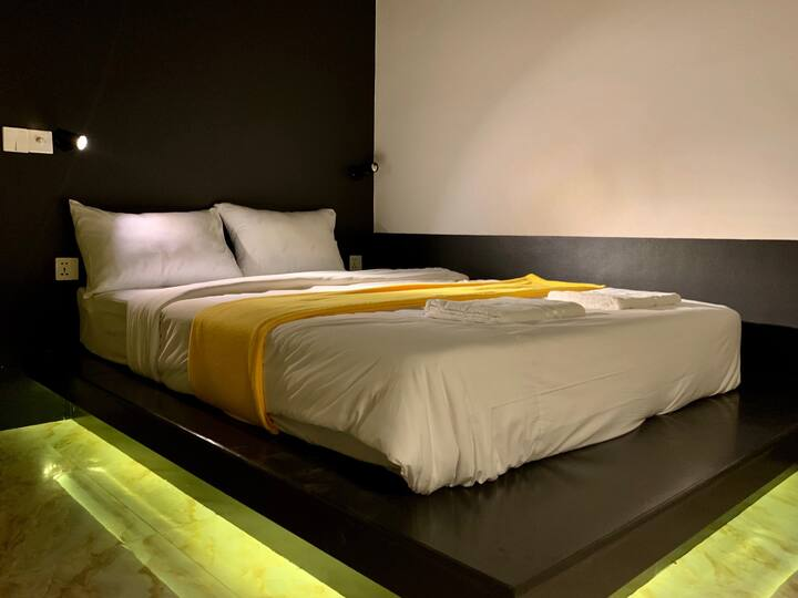 Deluxe Double Bed at UNITY