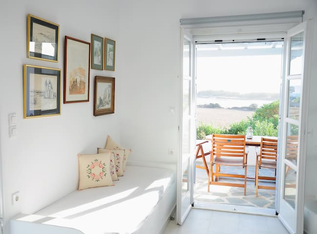 Glyfada apartment with sea view - Naxos - Huoneisto
