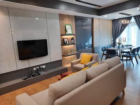 Designer Suite Apartment Families with Seaview