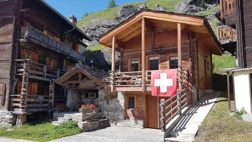 Lo Guètcho, Eison, Val d'Hérens, Valais