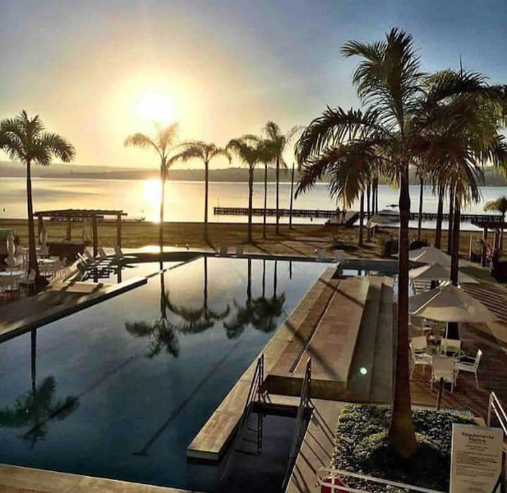 Flat Luxo Resort Brisas do Lago/Lanchas