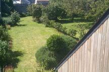 Vue sur un jardin