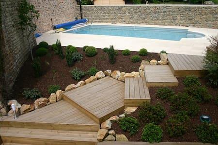 Gite cosy avec piscine - Moulins-le-Carbonnel