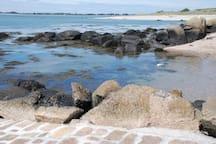 Une plage de l'île Tatihou