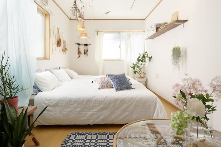 Dreamy bed room (Second floor)