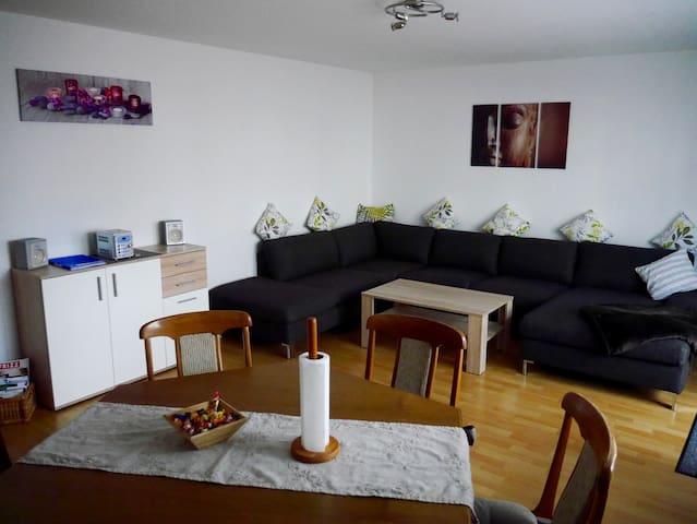 Ferienwohnung am Main, Okriftel Nähe Airport FFM - Hattersheim am Main - Apartamento