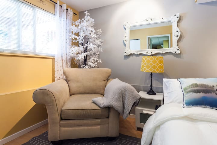 Modern suite 30 min  from Vancouver - Coquitlam - Appartement