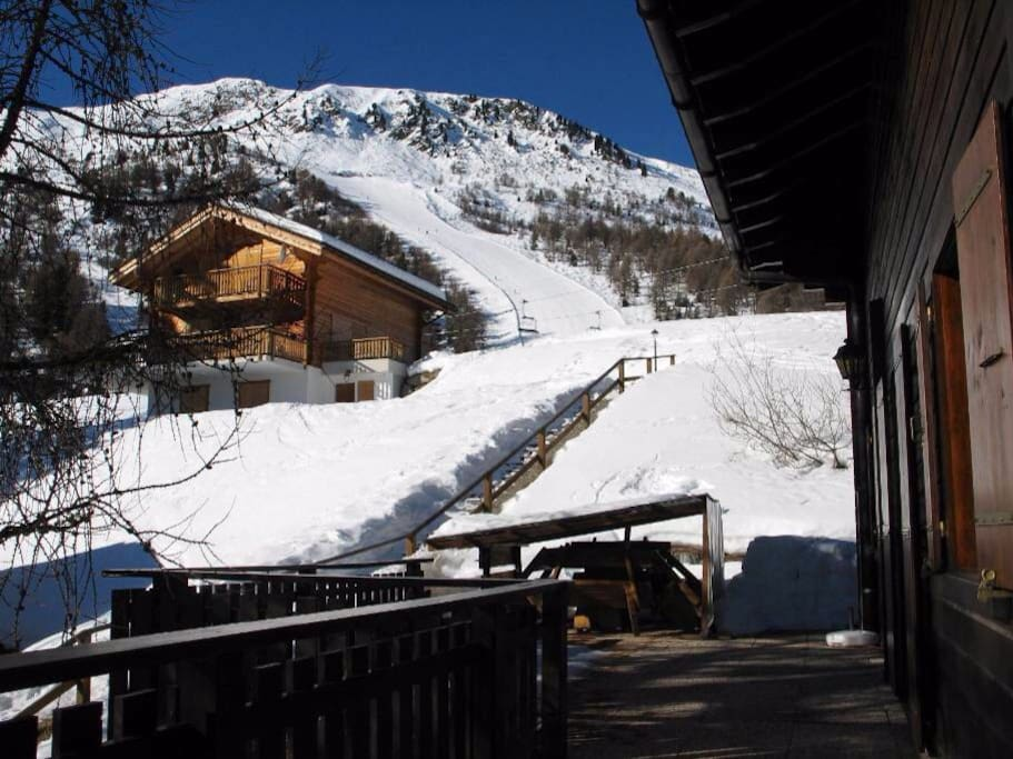 View of piste
