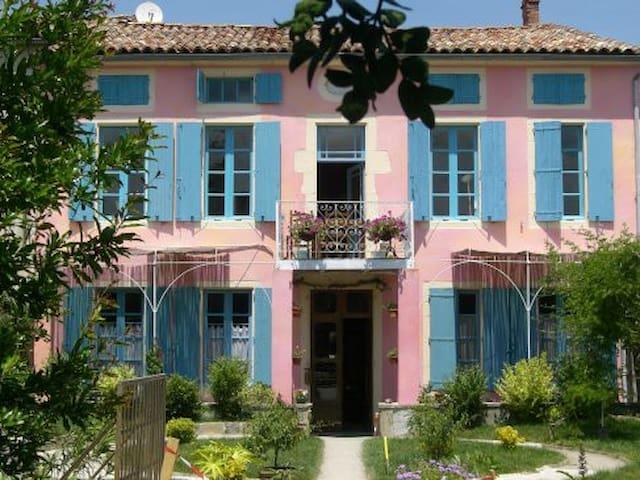Chambre Bleue avec salle de bain - Mirepoix - Bed & Breakfast