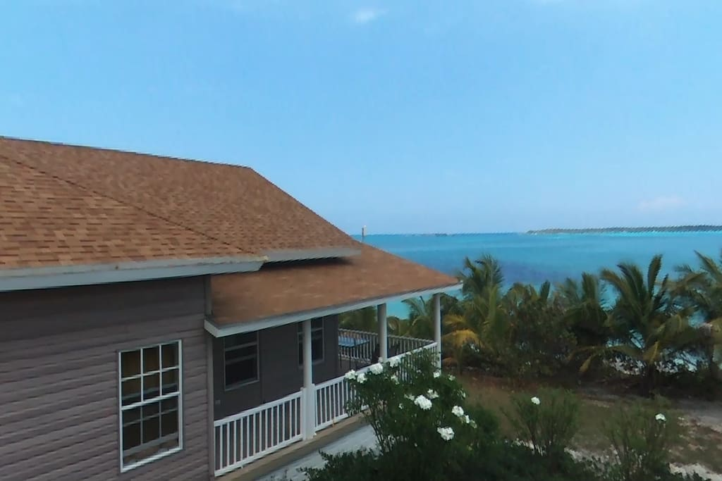 Peace quiet seclusion w private beach car houses for Beach houses for rent in bahamas