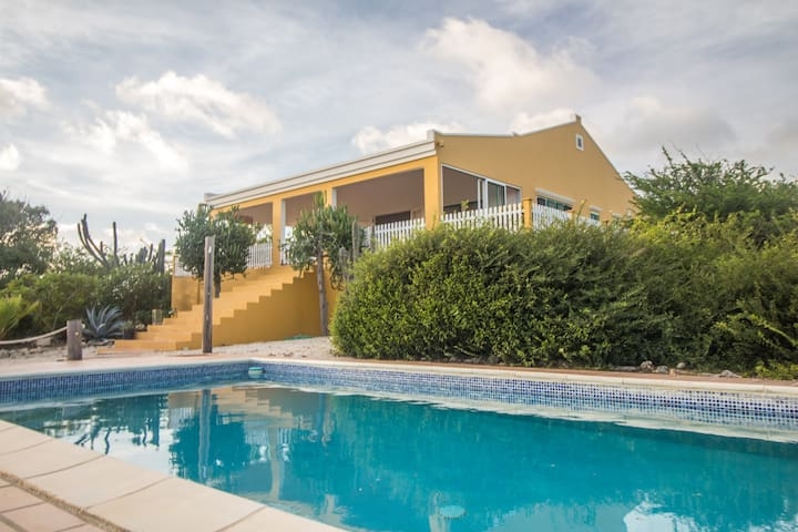 Beautiful villa with private pool and seaview