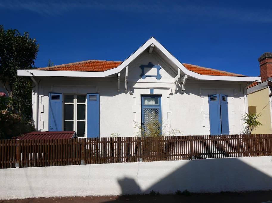 maison typique d'arcachon