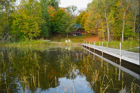 Log Cabin on Turtle River Lake