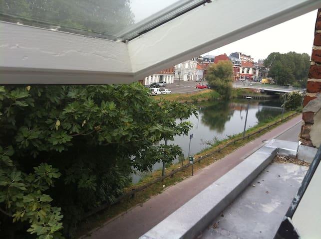 Maison 80m2 avec terrasse - Lille - Townhouse