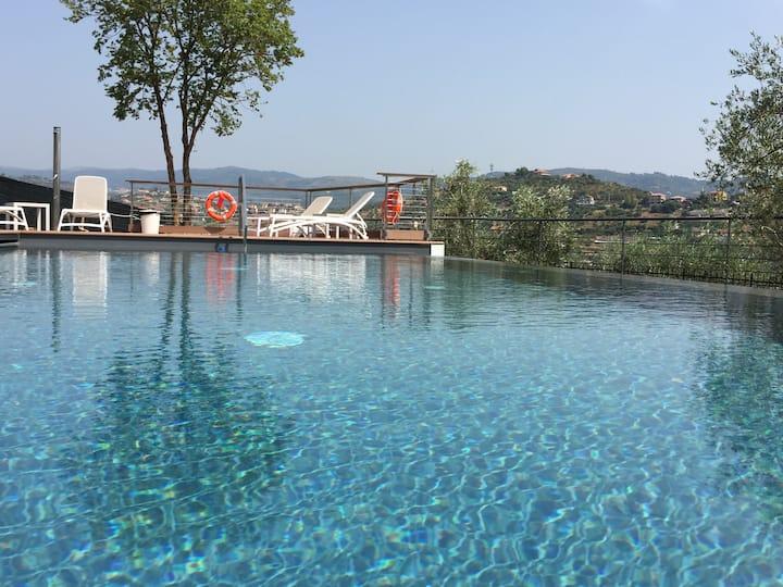 Lussuosa casa con piscina in agriturismo