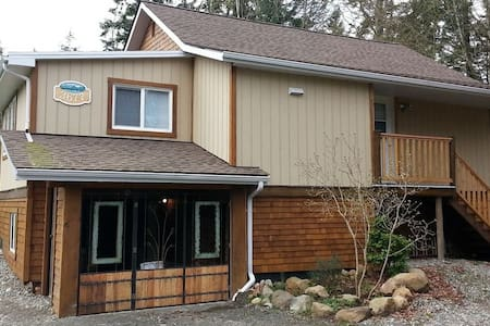 Cozy modern cottage, close to sea and town - Courtenay - Rumah