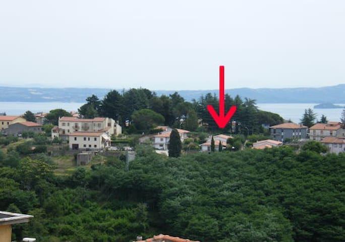 Appartamento/stanza Lago di Bolsena - Valentano - Rekkehus
