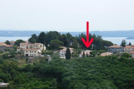 Appartamento/stanza Lago di Bolsena - Valentano - 連棟房屋