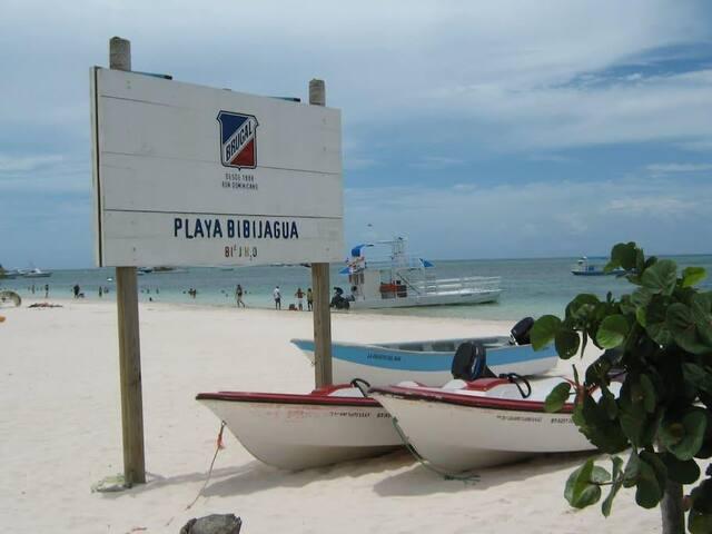A pasos de la playa, cómodo y relajante