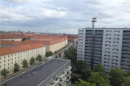 Trendy Nørrebro flat with a view