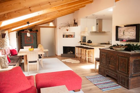 "The ski-in ski-out apartment ""Hase"" in Gerlos - Gerlos - Apartment"