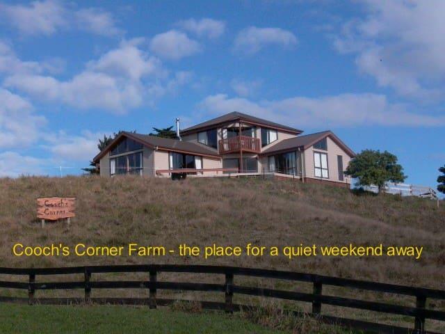 Coochs Corner Farm - the place for a weekend away - Rotokauri - House
