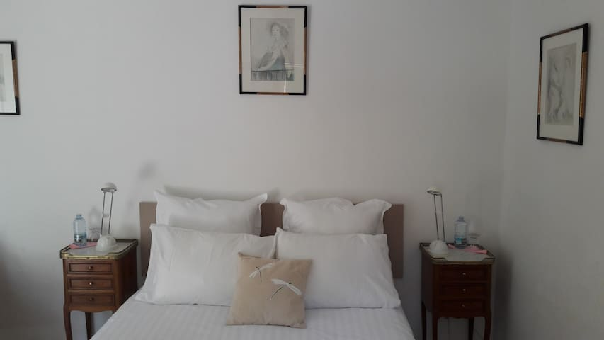 Chambre double en Provence - Saint-Antonin-sur-Bayon - Bed & Breakfast