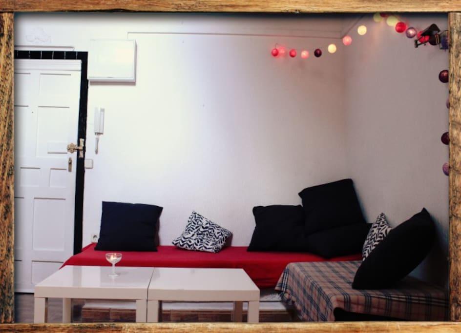Habitaci n para 1 en malasa a granvia apartamentos en - Alquiler de habitacion en madrid ...