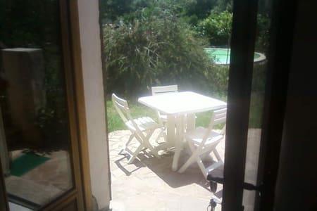 studio en rez de chaussée de villa - Bastelicaccia - Huoneisto