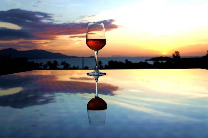 Samui Romance 3 BR Amazing Sunset Villa
