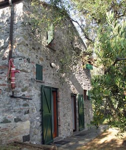 Typical stone built rural house - Bonassola - Casa