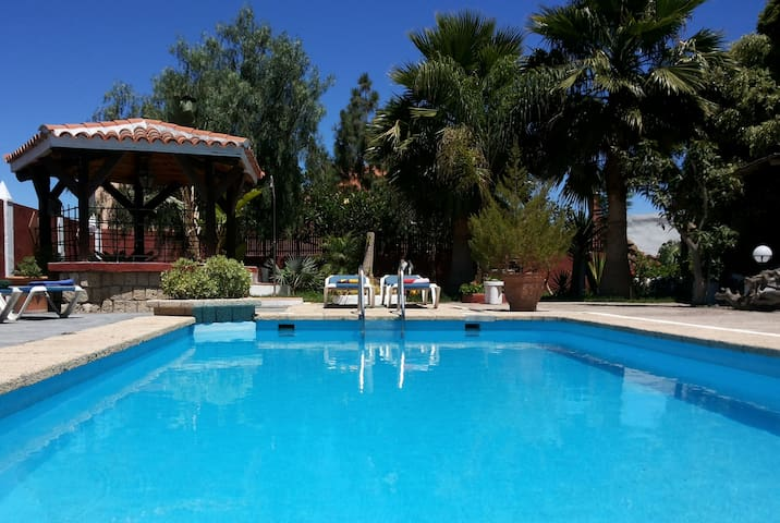 An Oasis with private pool - Güimar - Huoneisto
