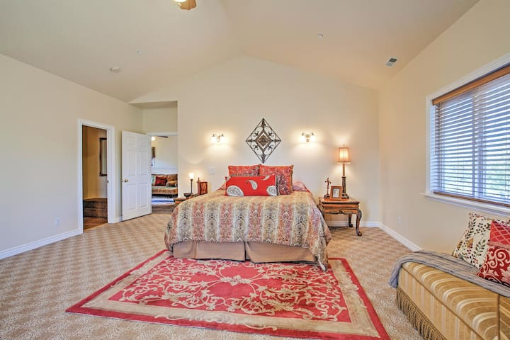 Rest up in this spacious master bedroom.